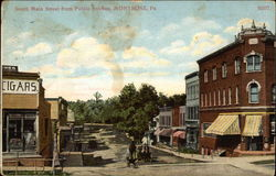 South Main Street from Public Avenue Postcard