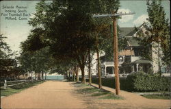 Seaside Avenue Looking South, Fort Trumbull Bach
