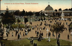 A Scene on the Grand Plaza, Toronto Exhibition