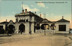 Portsmouth Ferry Entrance