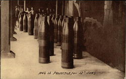"1046 Projectile for 12"" Guns"