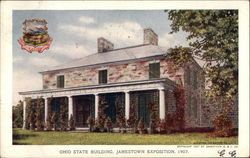 Ohio State Building, Jamestown Exposition, 1907