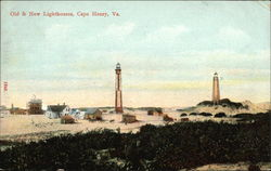 Old & New Lighthouses