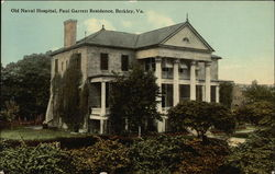Old Naval Hospital, Paul Garrett Residence
