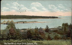The Four Points from Orr's Island, Me