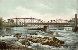 View of Bridge and Falls