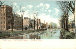 Hill & Bates Mills - Canal VIew