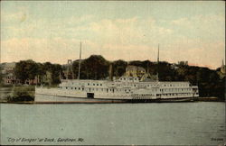 """City of Bangor"" at Dock"