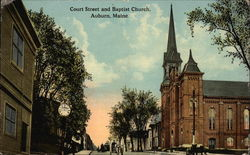 Court Street and Baptist Church