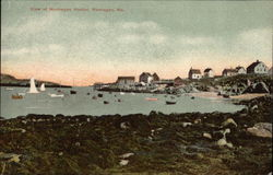 View of Monhegan Harbor