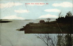 A View of Sunset Postcard