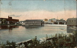 Town View from the Saco River