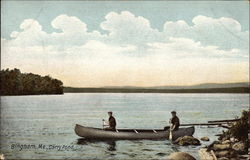 Canoeing on Carry Pond