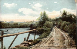 Road near Torsey Pond Postcard