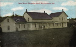 Line House, Kennebec Road, Via Jackman, Me