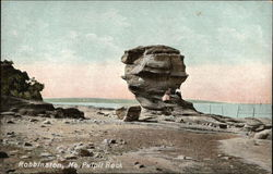 Pulpit Rock on the Shore