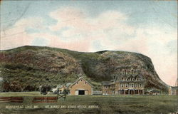 Mt. Kineo and Kineo House Annex Postcard