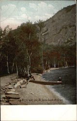 Pebble Beach, Mt. Kineo Postcard