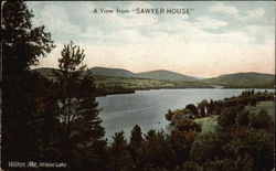 "View from ""Sawyer House"" on Wilson Lake"