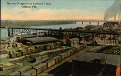 The Two Bridges from Railroad Yards