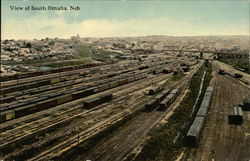 View of Town and Railroad Yard