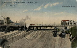 Passenger Terminals - Union Depot and Burlington Depot