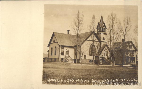 Congregational Church and Parsonage Island Falls Maine