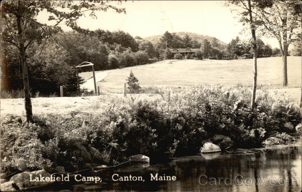 Lakefield Camp Canton Maine