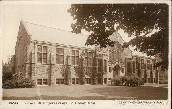 Mt. Holyoke College - Library South Hadley Massachusetts