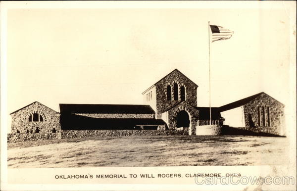 Oklahoma's Monument to Will Rogers Claremore