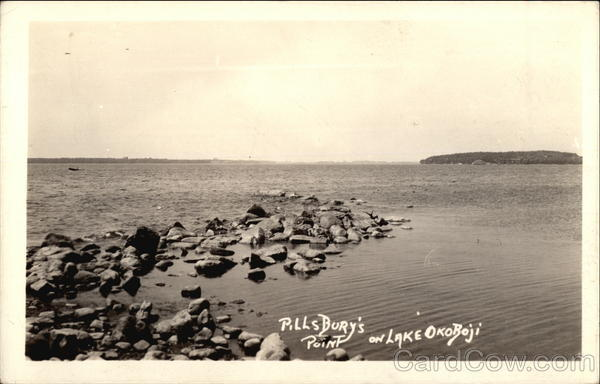 Pillsbury's Point on Lake Okoboji Arnolds Park Iowa