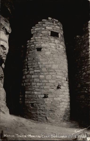 Watch Tower - Manitou Cliff Dwellings Manitou Springs Colorado