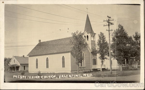 Presbyterian Church Valentine Nebraska