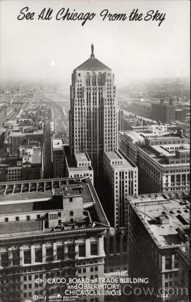 Chicago Board of Trade Building and Observatory Illinois