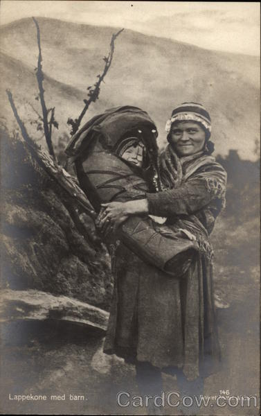 Lappekone Woman with Child