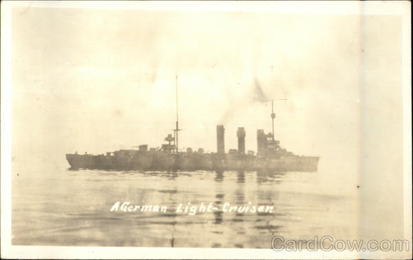 A German Light Cruiser World War I