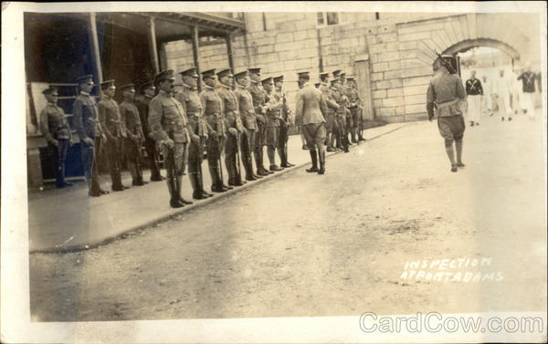 Army Inspection at Fort Adams Newport Rhode Island