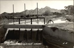 Arizona Irrigation Canal