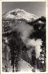 Steam Vents and Mt Lassen