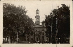 Main Building, University of South Dakota Postcard