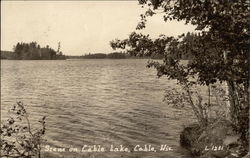 Scene on Cable Lake