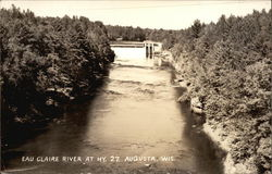 View of the Eau Claire River at Highway 27