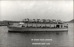 At Stand Rock Landing, Riverview Boat Line