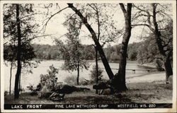 Lake Front at Pine Lake Methodist Camp