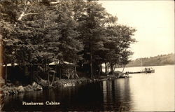 Pinehaven Cabins Postcard