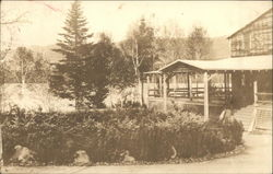 Loon Lake and the Main Lodge Postcard