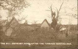 The Wullenweber Home after the Tornado