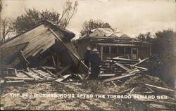 The Geo. Dickman Home after Tornado