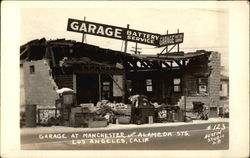 Garage at Manchester and Alameda Sts