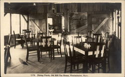 Dining Porch, Old Mill Tea House